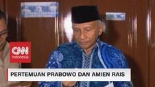 VIDEO: Pertemuan Prabowo dan Amien Rais
