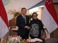 RI-Singapura Sepakat Bujuk Myanmar Jamin Repatriasi Rohingya