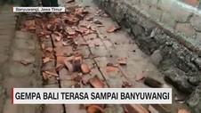 Video: Ini Titik Kerusakan Gempa Nusa Dua, Bali
