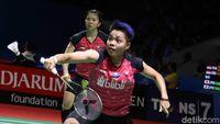 Unggul Mental, Greysia/Apriyani Lewati Ayako/Yukika di Babak I Indonesia Open
