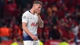 Bek Tottenham Hotspur Toby Alderweireld dikabarkan bergabung dengan AS Roma dengan nilai transfer cukup murah, yakni 18 juta poundsterling. (Ben STANSALL / AFP)