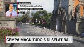 VIDEO: Gempa Magnitudo 6 Guncang Bali