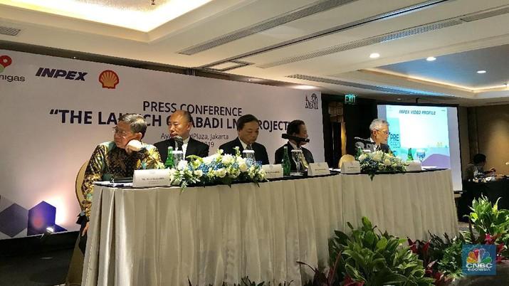 Proyek blok gas Masela senilai Rp 288 triliun akhirnya diserahterima dan dimulau