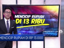 Mencicip Rupiah di Rp 13.000/USD