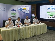 Usai Gempa M 5,8, BMKG Catat Ada 9 Gempa Susulan di Bali