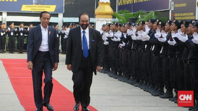Surya Paloh Sebut Jokowi Kader NasDem