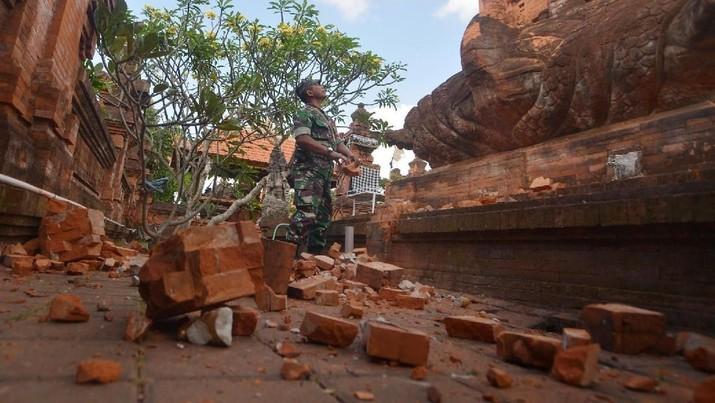 Begini Situasi Saat Gempa M 6,0 Guncang Pulau Bali