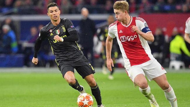 Ronaldo Perkenalkan Diri Sebagai Agen Pemain kepada De Ligt