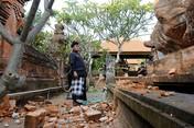 Potret Bangunan Rusak Pasca-Gempa Bali Magnitudo 6.0