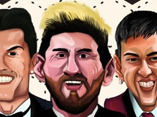 Kenapa Messi, Ronaldo, Neymar Bisa Tajir Melintir?