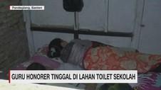 VIDEO: Miris! Guru Honorer Tinggal di Lahan Toilet Sekolah