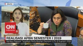 VIDEO: Realisasi APBN Semester 1 2019