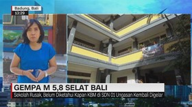 VIDEO: Kerusakan Akibat Gempa yang Mengguncang Bali