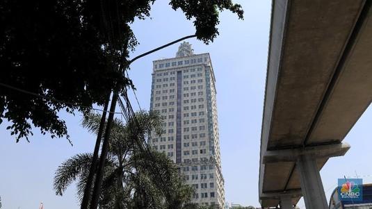 Intip Menara Saidah, Gedung Perkantoran yang Kosong 10 Tahun