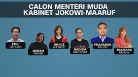 VIDEO: Bursa Calon Menteri Muda Jokowi