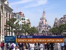 17 Juli 1955 Disneyland Pertama di AS  Beroperasi