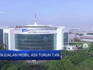 Penjualan Mobil Astra Turun 7,4%