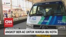 VIDEO: Angkot Ber-AC Untuk Warga Ibu Kota