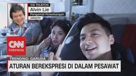 VIDEO: Aturan Berekspresi di Dalam Pesawat