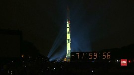 VIDEO: Perayaan Apollo 11 di Monumen Washington