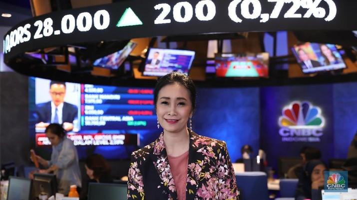 Direktur Konsumer PT.Bank BRI Handayani (CNBC Indonesia/Muhammad Sabki)