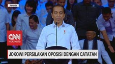 VIDEO: Jokowi Persilakan Oposisi Dengan Catatan