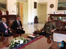 Temui Menlu Singapura, Jokowi Bahas Visi Indonesia 2019-2024
