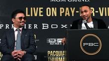 Jadwal Pacquiao vs Thurman di Perebutan WBA Super