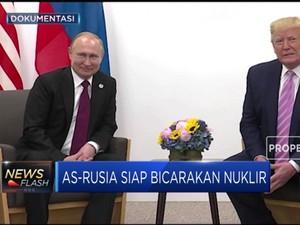 AS-Rusia Bahas Pembatasan Nuklir