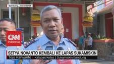 VIDEO: Setya Novanto Kembali Ke Lapas Sukamiskin