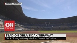 VIDEO: Stadion GBLA Tidak Terawat