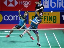 Hasil Indonesia Open 2019: Marcus/Kevin Menang Dua Gim