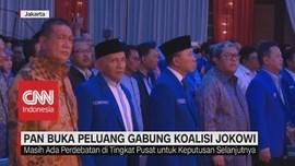 VIDEO: PAN Buka Peluang Gabung Koalisi Jokowi