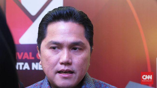 Erick Thohir Ajukan 4 Nama Calon Wakil Menteri ke Jokowi