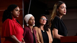Jejak dan Gertak Empat Perempuan AS Lawan Kicau Rasial Trump