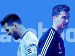 Persaingan Online dan Offline Ronaldo Vs Messi