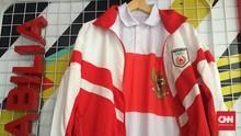 Replika Kostum Olimpiade 1992 Susy Susanti di Istora Senayan