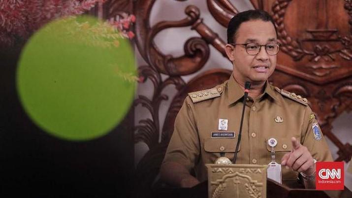Gubernur DKI Jakarta Anies Baswedan mengeluarkan Keputusan Gubernur Nomor 1107 Tahun 2019.