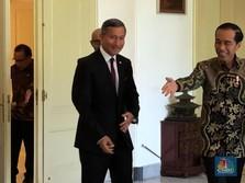 Menlu Singapura Cs Datangi Jokowi, Negosiasi Tax Treaty?