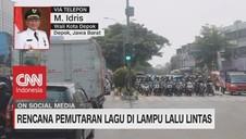 VIDEO: Wali Kota Depok Soal Pemutaran Lagu di Lampu Lalin