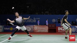 Hasil Indonesia Open 2019: Ahsan/Hendra ke Final