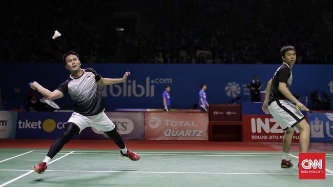 Hasil Indonesia Open 2019: Ahsan/Hendra ke Final
