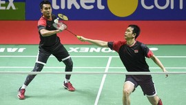 Hasil Indonesia Open 2019: Ahsan/Hendra Masuk Semifinal