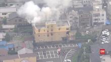 VIDEO:  Studio Animasi Jepang Diduga Dibakar