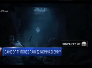 Game Of Thrones Raih 32 Nominasi Emmy