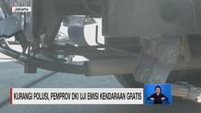 VIDEO: Kurangi Polusi, Pemprov DKI Uji Emisi Kendaraan Gratis