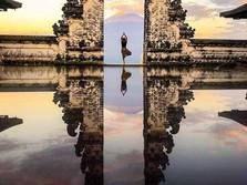 Viral, Turis Asing Kecewa Berfoto di 'Gerbang Surga' Bali