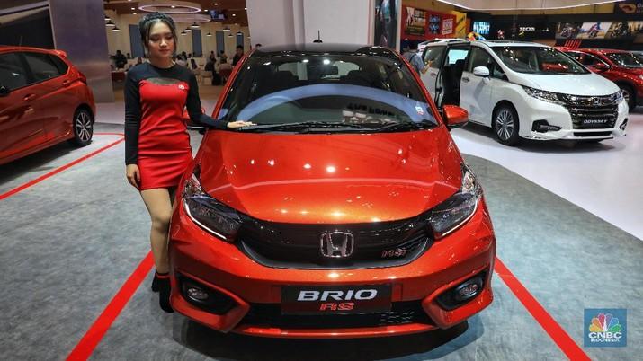 Honda Brio RS MT Rp 176.000.000. (CNBC Indonesia/Andrean Kristianto)