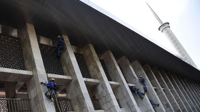 Polisi Klarifikasi Info Suara Ledakan di Masjid Istiqlal
