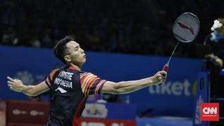 Hasil Indonesia Open 2019: Jonatan Terhenti di Perempat Final